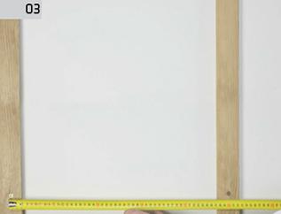 Montaż deski barlineckiej na ścianie - odległość między łatami