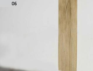 Montaż deski barlineckiej : odchylenie łaty